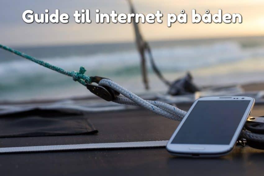Guide til internet på båden